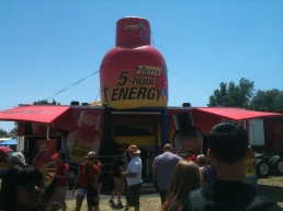 5 Hour Energy Zone at Nascar
