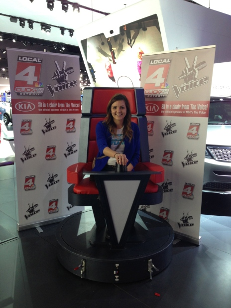 On-site NAIAS 2013 for WDIV Local 4