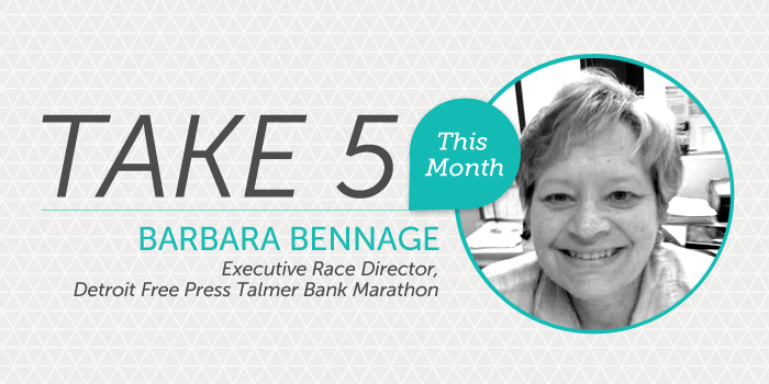 Take 5_Barbara Bennage